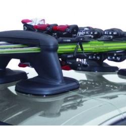 Багажник магнитен за 3 чифта ски-тако-черен- 5.8кг