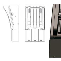 Калник къс за Krone B1 490 x B3 288 x L1 412mm.,1.4kg