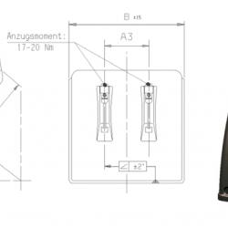 Калник половинка B450 x R670 x L700 x S670mm; 2.4kg