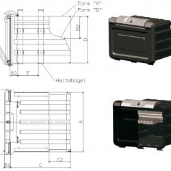Кутия инструменти PVC A 600 x B 420 x C 610mm; 6.5kg -Schmitz-