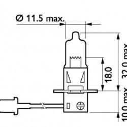 Крушка H3 24V/70W PK22s,