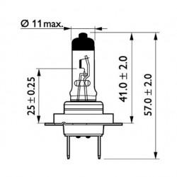 Крушка H7 24V 70W PX26d