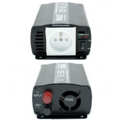 Преобразувател на тока 24V/220V 500W