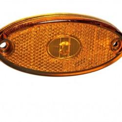 Габарит страничен диоден оранжев, 24V,LED