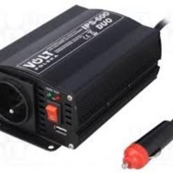 Преобразувател на тока Duo 12/24V/230V 300/600W