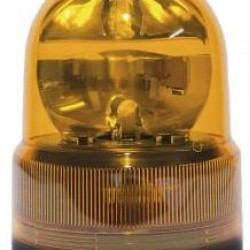Маяк магнитен, с кабел запалка BA15S 12V