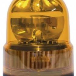 Маяк магнитен, с кабел запалка, въртящ се P21W оранжев 24V