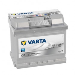 Акумулатор VARTA SILVER 52AH / 520A - 207X175X175