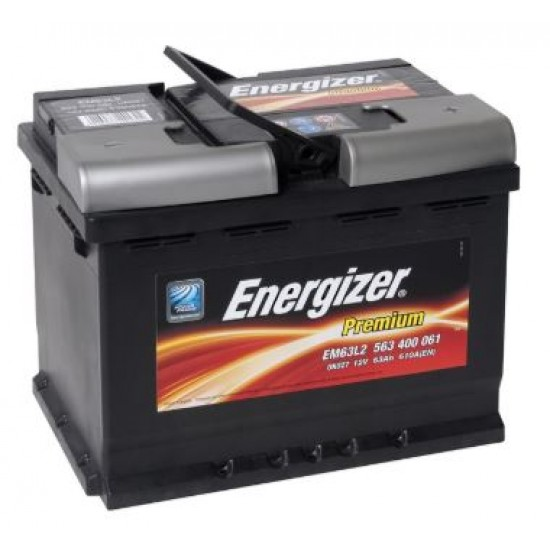 Акумулатор ENERGIZER 63AH/610A - L242xW175xH190