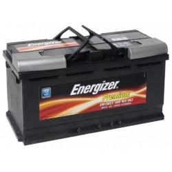 Акумулатор ENERGIZER 100AH/830A - L353xW175xH190