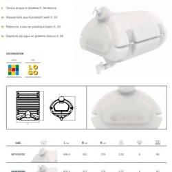Резервоар за вода с резервоар за сапун 495х350х360 / БЯЛ-30L/