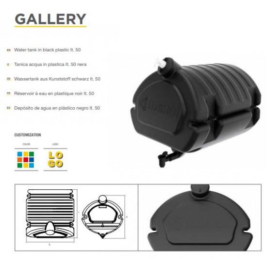 Резервоар за вода с резервоар за сапун 458х453х470 / ЧЕРЕН-50L /