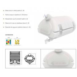 Резервоар за вода с резервоар за сапун 458х453х470 / БЯЛ-50L /