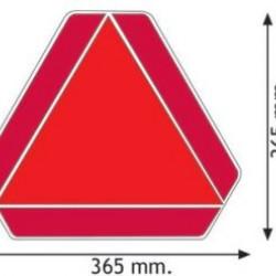Табела за бавнодвижещо се транспортно средство ECE69.01
