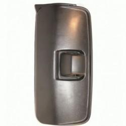 Огледало основно единично LH с нагревател, II ръчно управ., 24V,R1200,435x215mm; MERCEDES-BENZ ATEGO(98-04) ATEGO 2(04- )