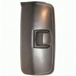 Огледало основно единично LH с нагревател и ел. управление, II 24V,R1200,435x215mm; MERCEDES-BENZ AXOR 2(04- ) ATEGO 2(04- )