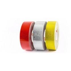 Светлоотразителна лента жълта за мека повърхност