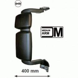 Огледало основно двойно RH с нагревател и ел. управление, II + IV средно рамо, 24V,R1200+300,720x400mm; IVECO Stralis (04-) (06-)