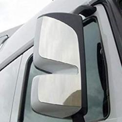 Капак за огледало основно двойно, голямо  RH ХРОМ-Mercedes-Benz MP2 >'08-