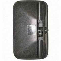 Огледало основно единично RH / LH с нагревател, II 12V,R1800,305x185mm -Mercedes-Benz LK08('77-'98)-