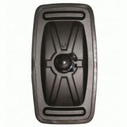 Огледало основно RH / LH с нагревател, II 24V,R1200,428x230mm -Scania R93/113/143('81-'96)-