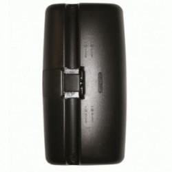 Огледало основно единично RH / LH с нагревател, II ръчно управление, 24V,R1200,392x205mm -DAF 75/85/95-