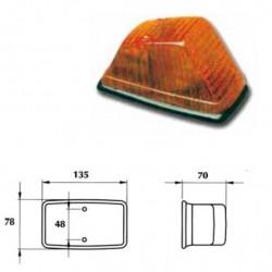 Маяк оранжев LH със равна гумена основа