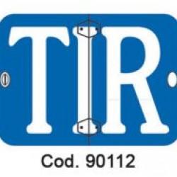Табела TIR сгъваема, вертикална 400х250