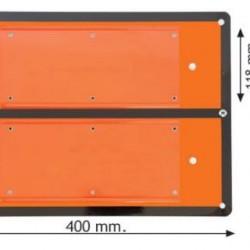 Табела ADR със сменявани цифри 400х300х1мм
