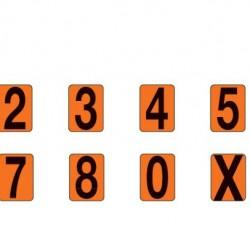 Цифри за табела комплект 1-9