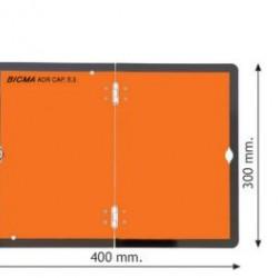 Табела ADR Алуминиева 1.0мм 300х400мм -Вертикална-Сгъваема