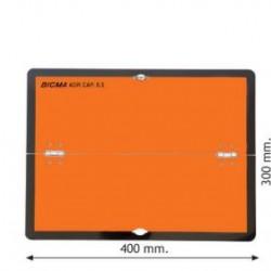 Табела ADR алуминиева 1.0мм 300х400мм-Хоризонтална-Сгъваема-