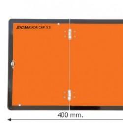 Табела ADR INOX стоманена 0.8мм. 300х400мм. Вертикална/Сгъваема