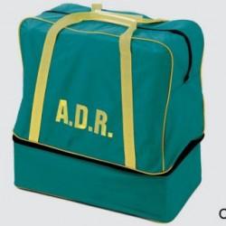 Чанта ADR -> Зелена с жълти дръжки