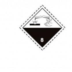 Стикер корозивни вещества CI.8 300х300мм
