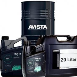 Масло моторно полусинтетично AVISTA PURE EVO CI-4 TS SAE 10W-40, 5 LT  EURO 4