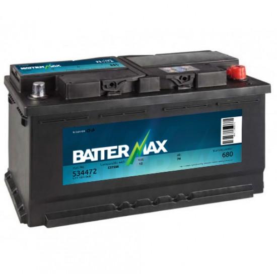 Акумулатор BATTERMAX 90 Ah/ 720 A - L353xW175xH190
