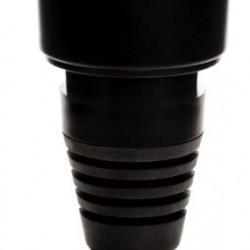 Маяк LED диоден, оранжев, тип тръба, ниска база  10-30V