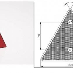 Триъгълник светлоотразителен