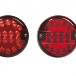 Стоп универсален диоден кръгъл, червен Ф140мм