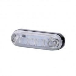 Габарит диоден LED, бял 12/24V