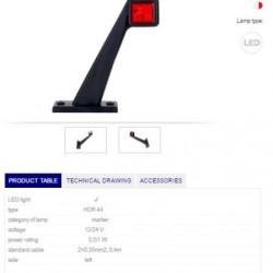 Рогче LH LED 12-24V