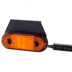 Габарит със стойка и кабел с букса LED 12-24V