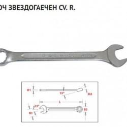 Комбиниран гаечен ключ (Звездогаечен) 30мм.