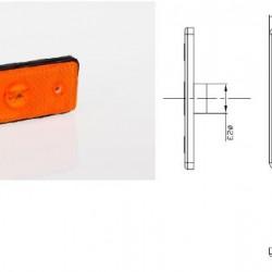 Габарит оранжев, за крушка W5W