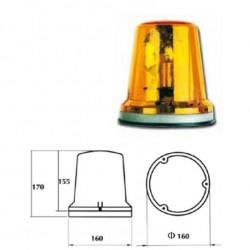 Стъкло маяк оранжев