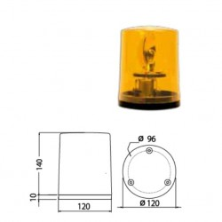 Стъкло маяк оранжево  серия 425