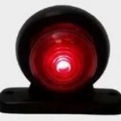 Стъкло за рогче червено