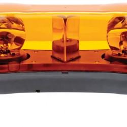 Стъкло маяк двойно, оранжево