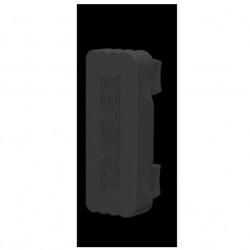 Капачка профил страничен за защита -Черна-